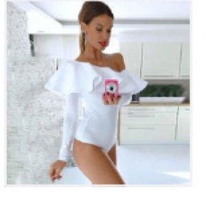Tops - New!  Ruffle bodysuit